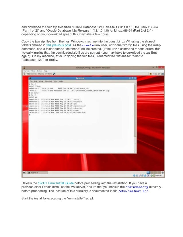 oracle 12c client download for linux x86-64