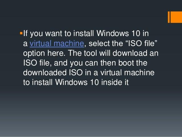 Installing Windows-10
