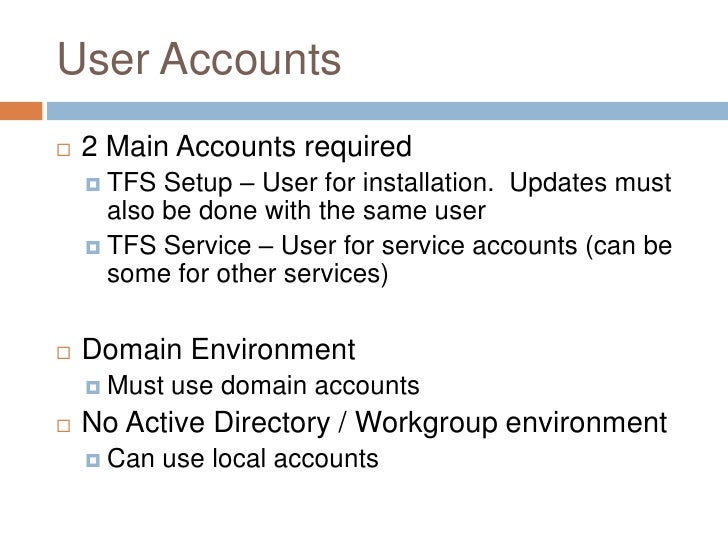 Installing And Configuring Team Foundation Server 2008