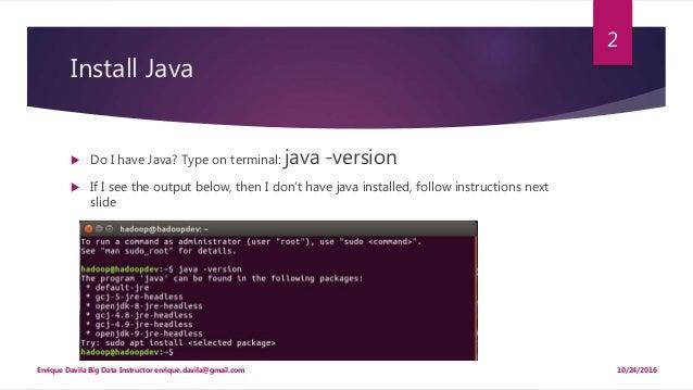 install hadoop 2.7 on ubuntu 16.04