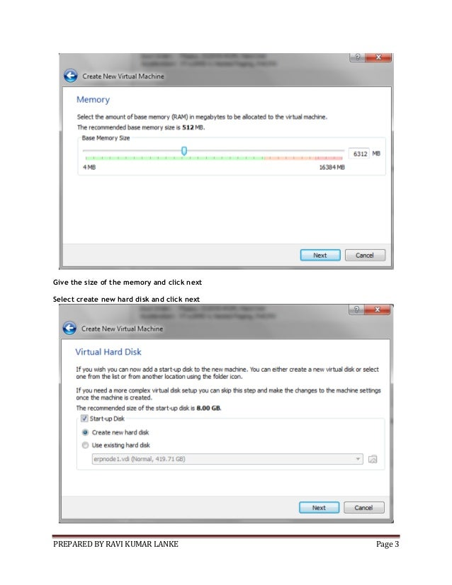 Installing linux on oracle virtual machine Slide 3