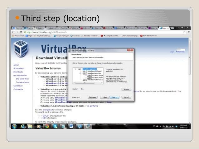 Installing virtual box and windows server 2008 R2