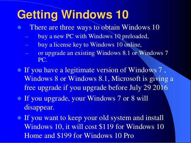 how to install windows 10 pro on a new pc