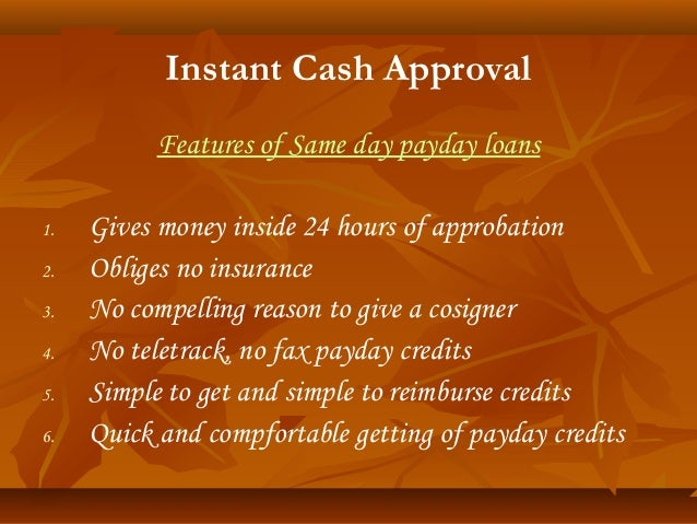 3 30 days payday advance financial products instant cash