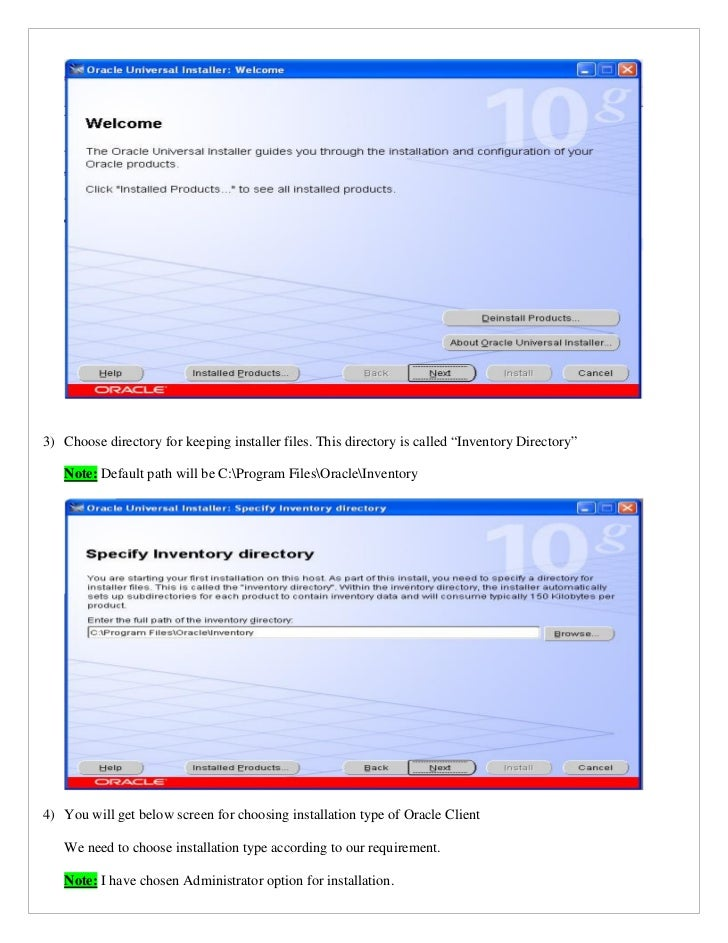 Install Oracle Client On 32 Bit Windows