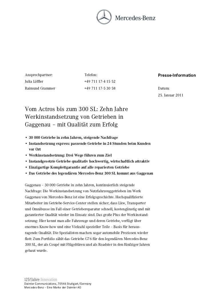 Ansprechpartner:                          Telefon:                               Presse-InformationJulia Löffler          ...