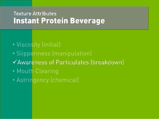 Trends In Instant Protein Beverages