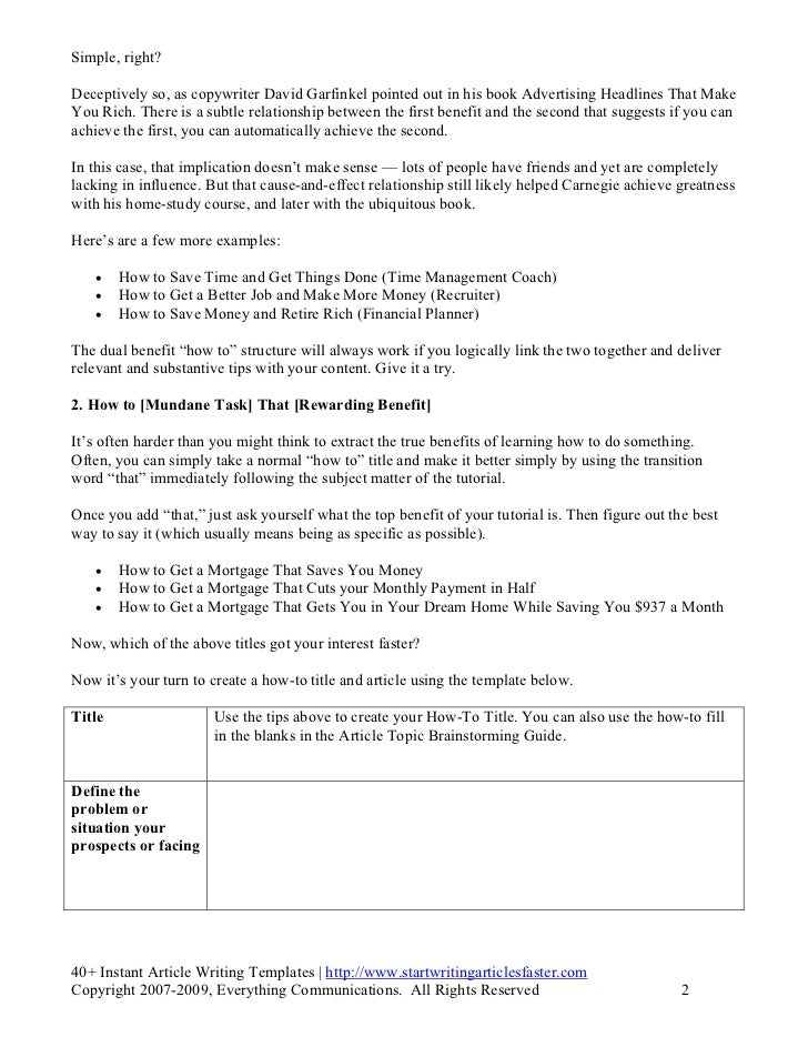 Instant article writing_templates.