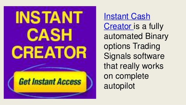 Creator Of Instant Message : Instant cash creator review