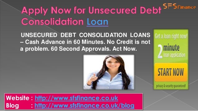 Debt consolidation loans for bad credit online decision