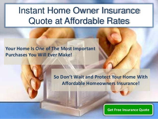 Instant Insurance Quote Beauteous Instant Home Owner Insurance Quote Get Cheap Online Home Insurance Q…
