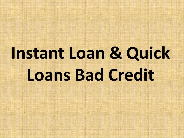 Instant loan & quick loans bad credit - 웹