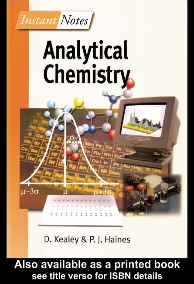 11  0111  0111  0111  0111  0 11  Analytical Chemistry