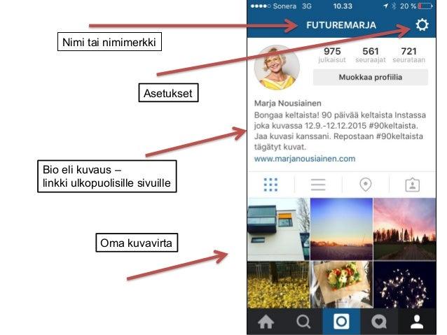 Instagram Nimimerkki