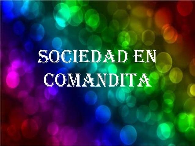 sociedad en comandita Peru Slide 2