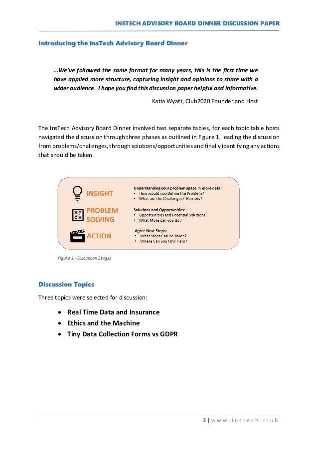 Innovation Cafe - Discussion Paper Slide 3