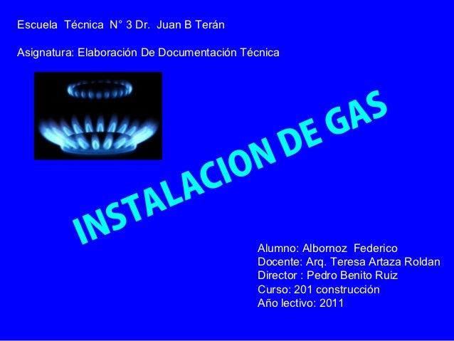 Escuela Técnica N° 3 Dr. Juan B TeránAsignatura: Elaboración De Documentación Técnica                                     ...