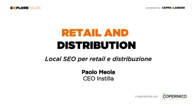 INSTILLA PER RETAIL AND DISTRIBUTION INSTILLA - Approccio agile per il digital marketing I TREND NELLE RICERCHE COME FUNZI...