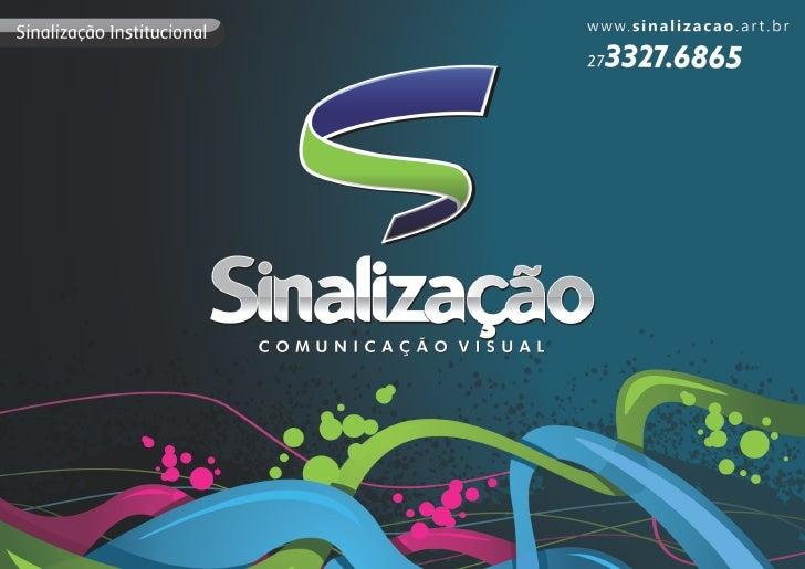 Sinalização Comunicação Visual