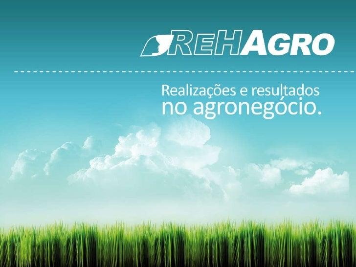 Realizações e resultados no agronegócio.