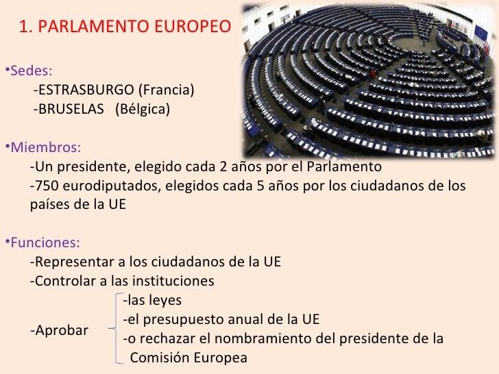 Instituciones de la Unión Europea Slide 3