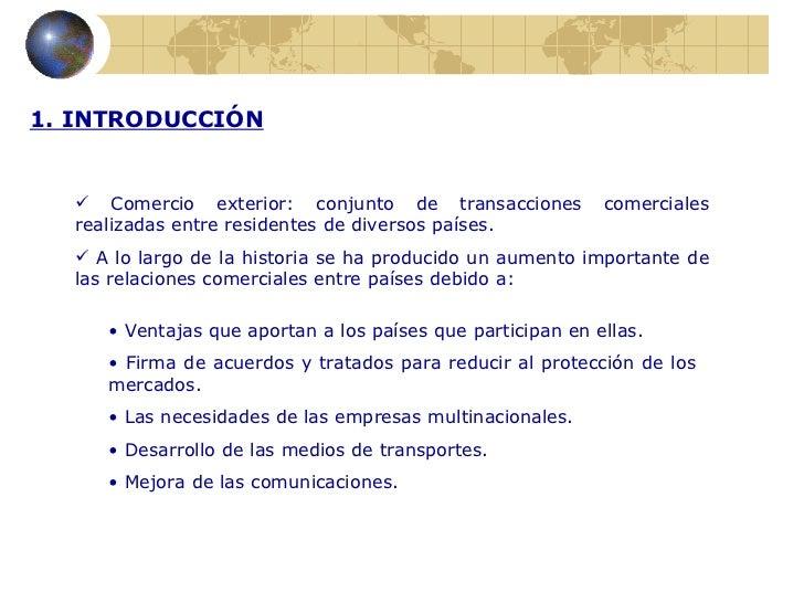 Instituciones internacionales y comercio exterior for Comercio exterior que es