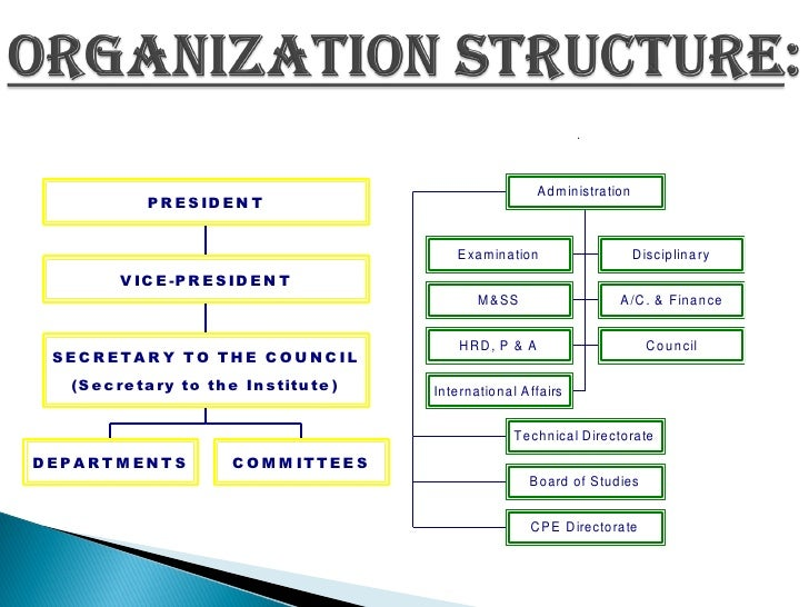 orgnanization structure of cil Cil has procedural manuals covering  for discharging its functions cmpdi has a number of set rules and manuals which govern the functioning of the organization.