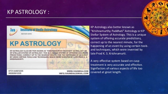 """KP ASTROLOGY : KP Astrology also better known as """"Krishnamurthy Paddhati"""" Astrology or KP Stellar System of Astrology. Thi..."""