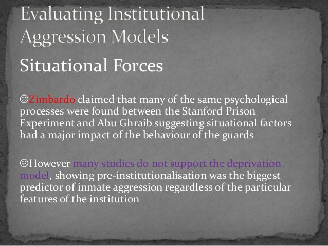explain the impact of the stanford prison experiment on psychology and behaviour essay Ib psychology notes on the sociocultural level of analysis: physiology and behaviour pb1: explain one zimbardo et al (1971) – stanford prison experiment.