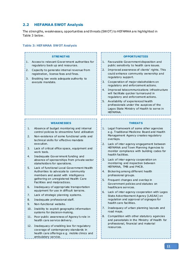 Institutional Capacity Assessment Report For Health