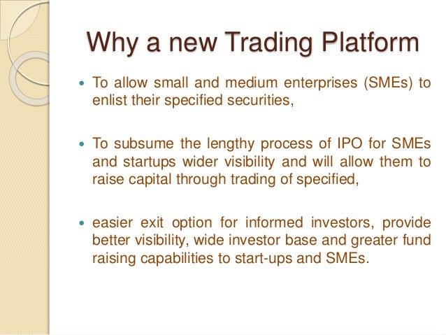 Institutional trading platform itp framework
