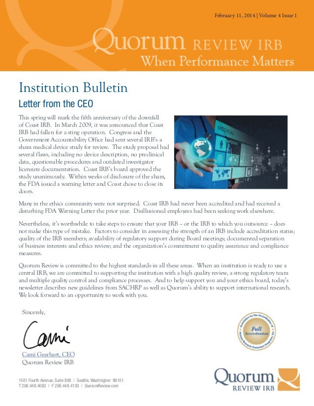 February 11, 2014Volume 3 4 Issue3 July 25, 2013 | | Volume Issue 1  Institution Bulletin Letter from the CEO This spring ...