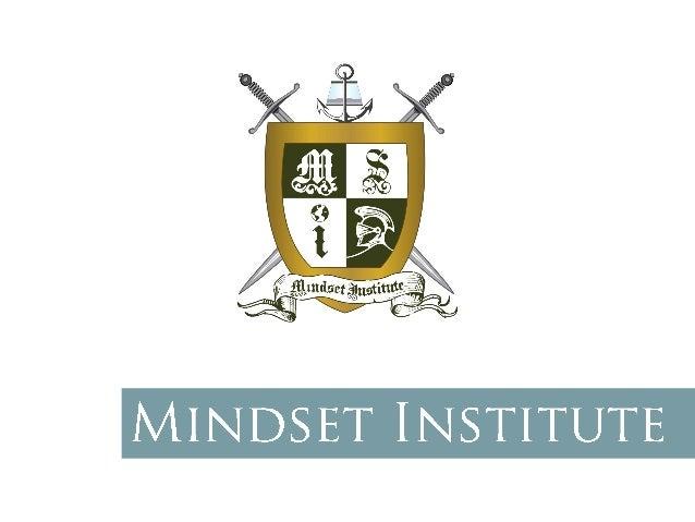 Instituto Mindset | 11 4380-2000 | www.institutomindset.com.br Nosso objetivo é unir pessoas, nacionalidades e empresas. E...