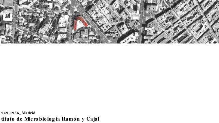 Instituto de Microbiología Ramón y Cajal 1949-1956_Madrid