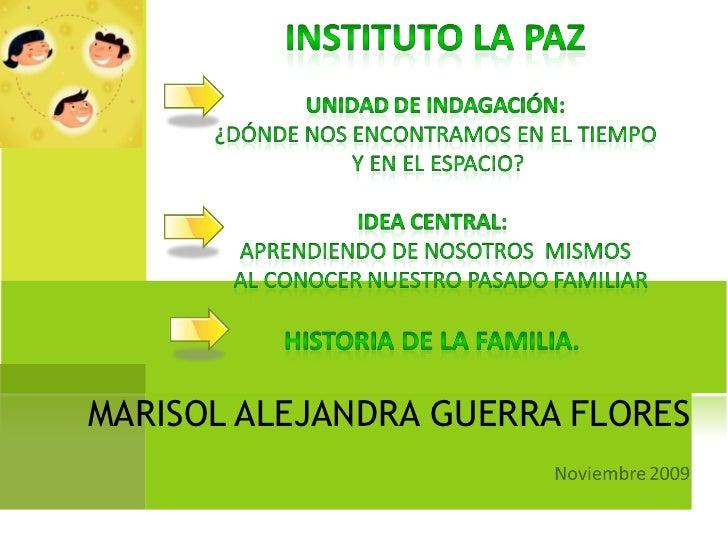 MARISOL ALEJANDRA GUERRA FLORES