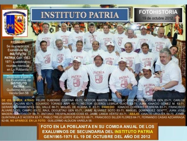Instituto Patria Gen 63-71comida anual La Poblanita 18OCT2013