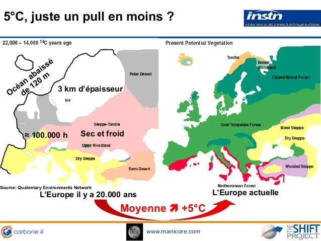www.manicore.com Moyenne ! +5°C Source: Quaternary Environments Network 5°C, juste un pull en moins ? L'Europe actuelleL'E...