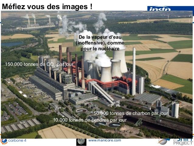 www.manicore.com 50.000 tonnes de charbon par jour 10.000 tonnes de cendres par jour 150.000 tonnes de CO2 par jour De la ...