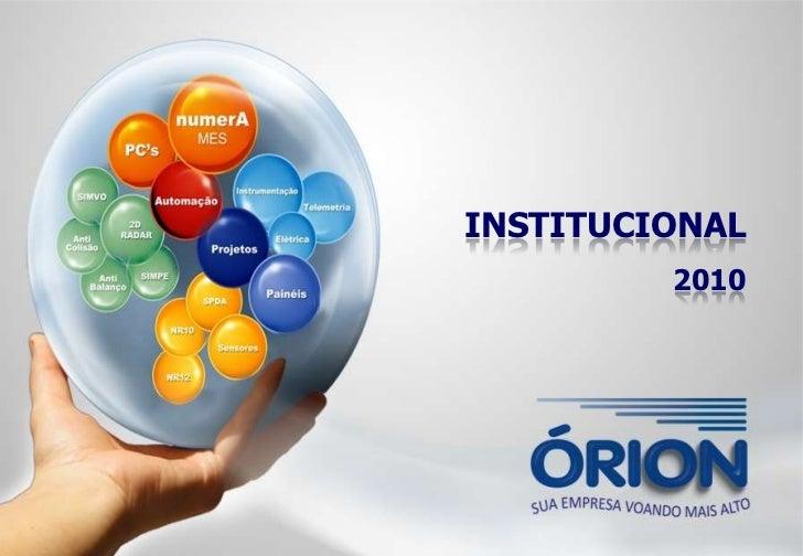 INSTITUCIONAL         2010