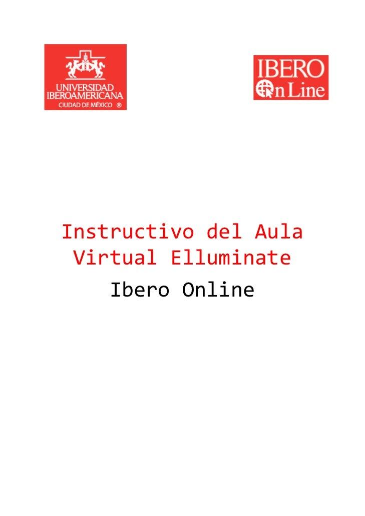 Instructivo del Aula  Virtual...