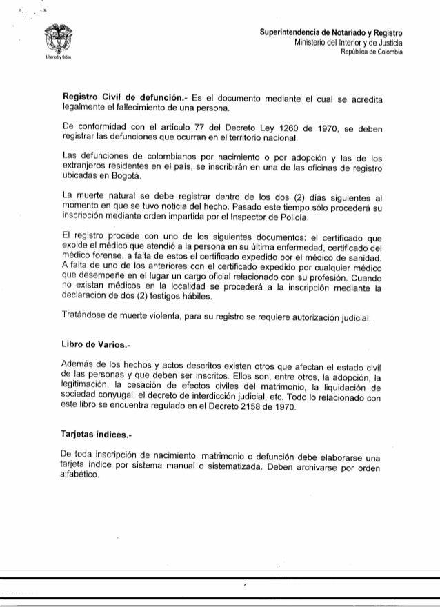 Registro De Matrimonio Catolico En Notaria : Instrucción administrativa no de recibo y