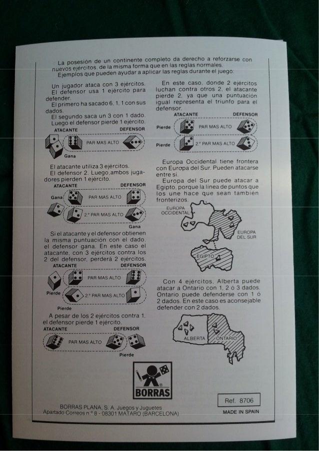 Juego 1987 Instrucciones Mesa Risk Borras Año De 8OwNn0PXZk