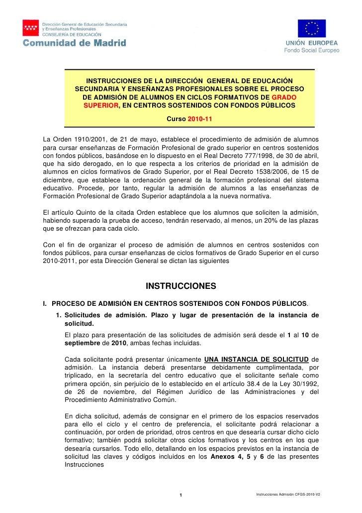 Instrucciones Admision Cfgs 2010 Sin Anexos