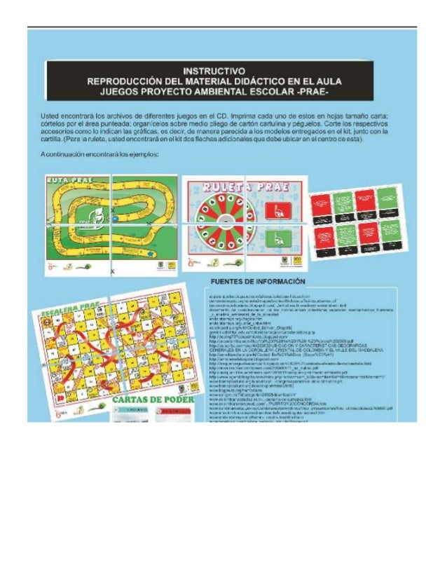 Instrucciones juegos prae en word (para imprimir)
