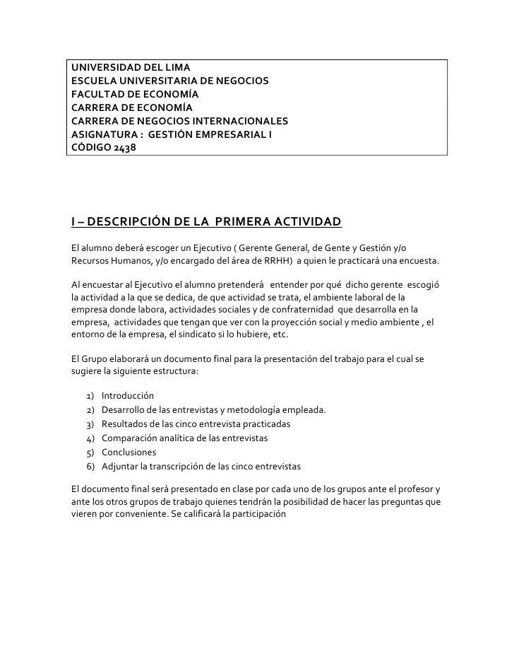 UNIVERSIDAD DEL LIMA<br />ESCUELA UNIVERSITARIA DE NEGOCIOS<br />FACULTAD DE ECONOMÍA<br />CARRERA DE ECONOMÍA<br />CARRER...
