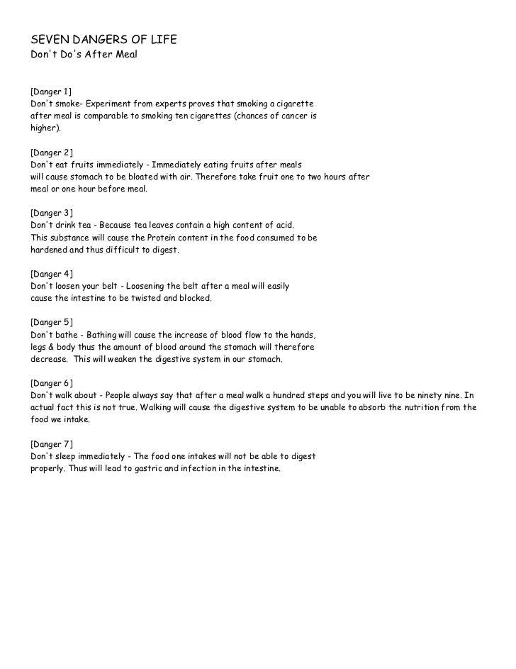 Instructions On Pranayama