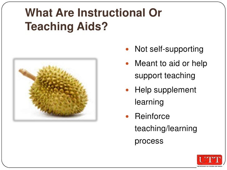 instructional aids A key feature of effective teaching is the selection of instructional materials that meet the needs of students and fit the constraints of the teaching and learning environment there are many pressures for educators to match the audiovisual stimuli of television, computers, and electronic games.