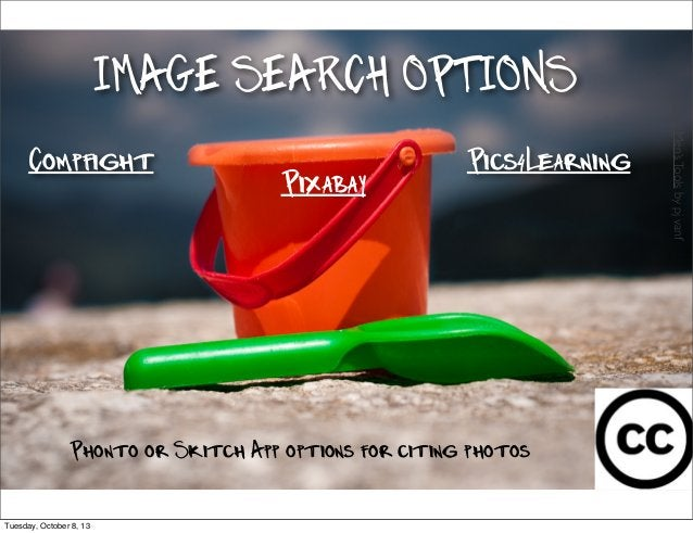 Compfight Pics4Learning IMAGE SEARCH OPTIONS YoungMen'sToolsbypjvanf Phonto or Skitch App options for citing photos Pixaba...