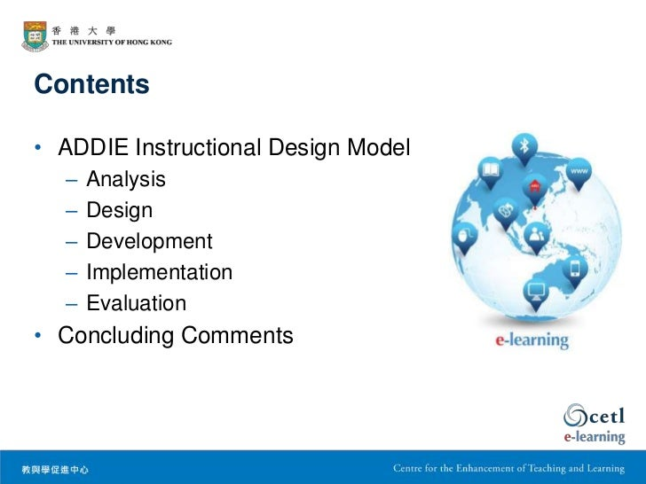 components of instructional design
