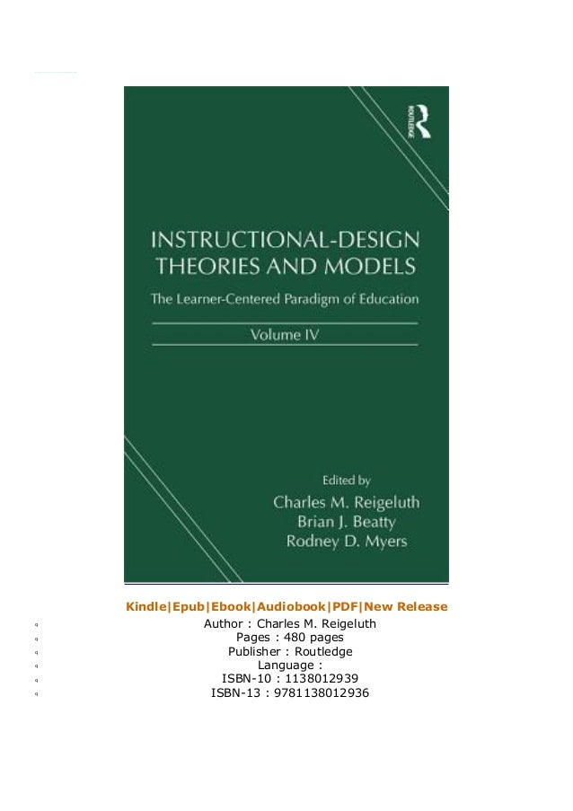 P D F Instructional Design Theories And Models Volume Iv The